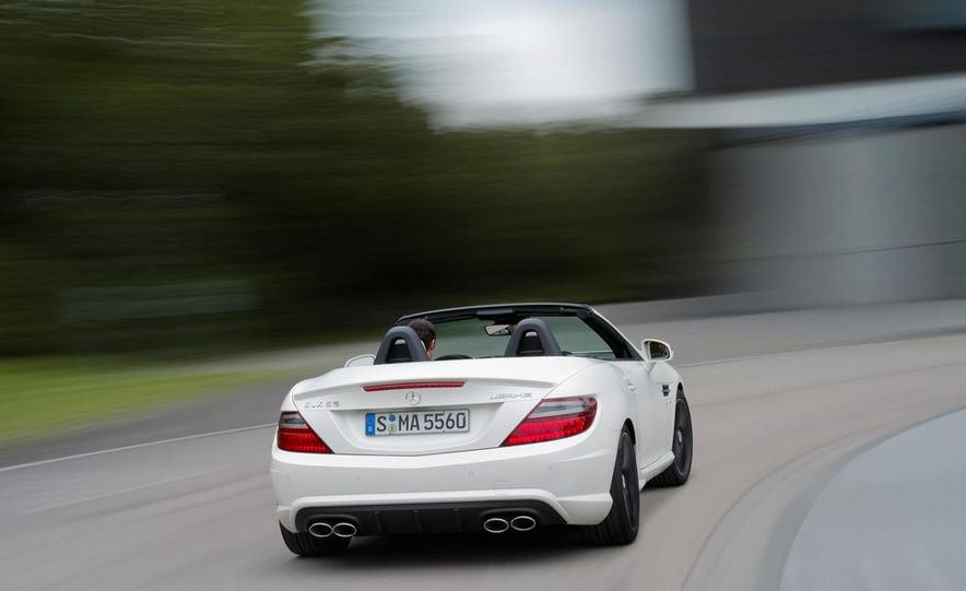 2012 Mercedes-Benz SLK55 AMG - Slide 13