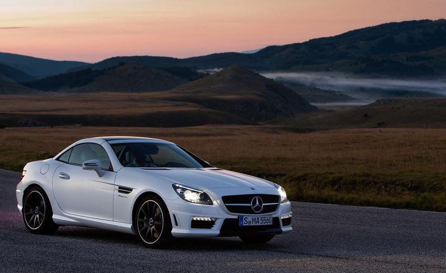 2012 Mercedes-Benz SLK55 AMG - Slide 14