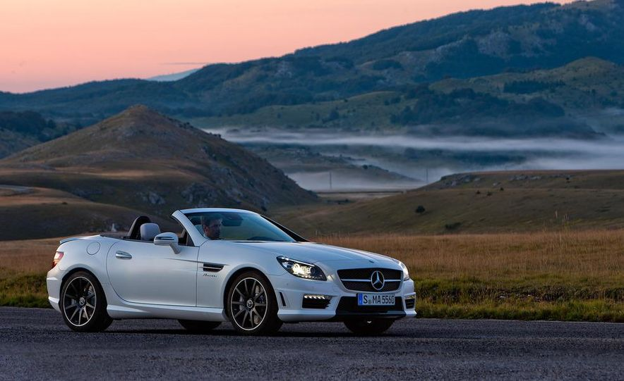 2012 Mercedes-Benz SLK55 AMG - Slide 15