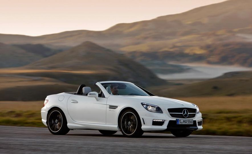 2012 Mercedes-Benz SLK55 AMG - Slide 16