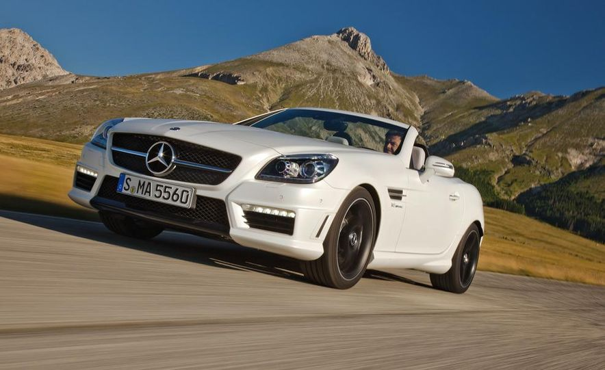 2012 Mercedes-Benz SLK55 AMG - Slide 18