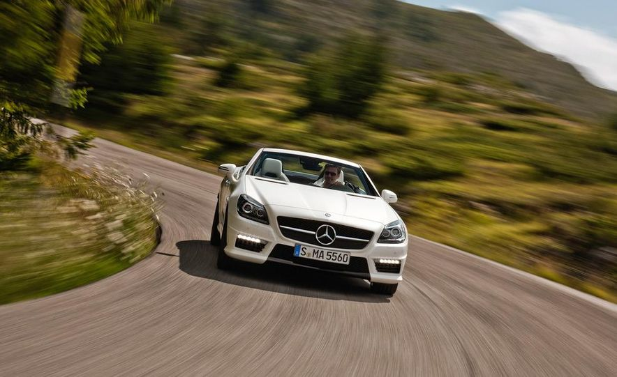 2012 Mercedes-Benz SLK55 AMG - Slide 19