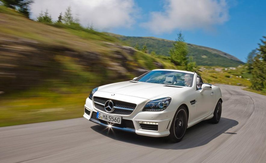 2012 Mercedes-Benz SLK55 AMG - Slide 20