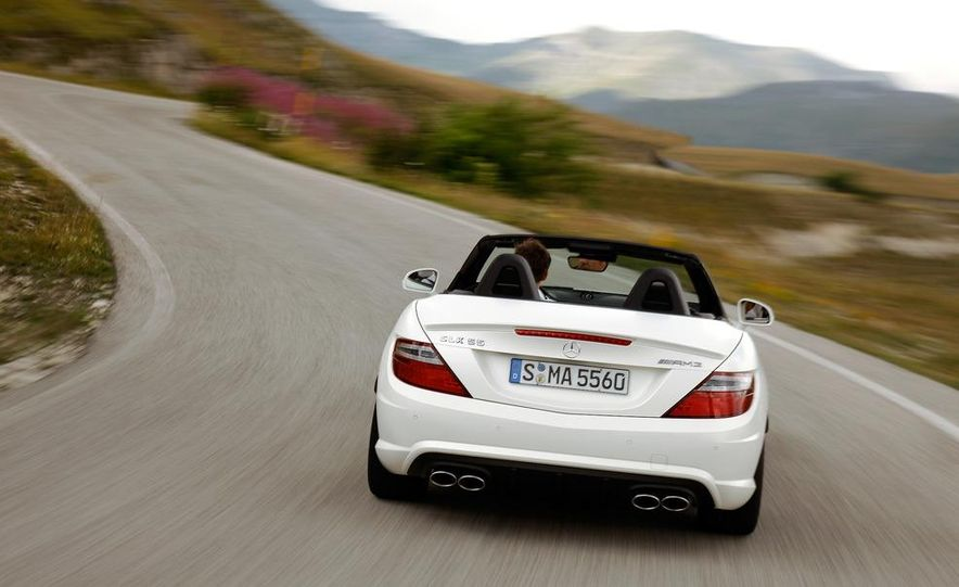 2012 Mercedes-Benz SLK55 AMG - Slide 21