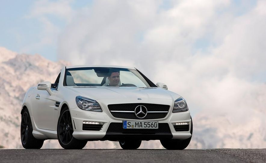 2012 Mercedes-Benz SLK55 AMG - Slide 22
