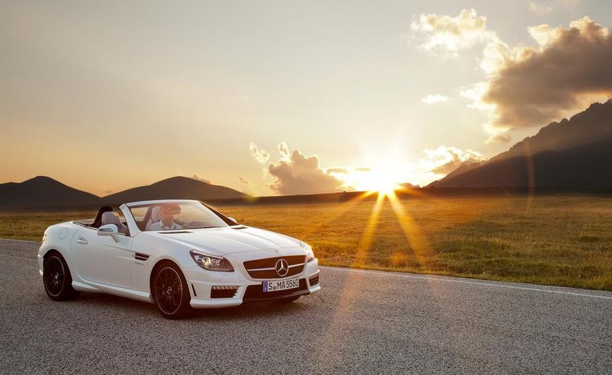 2012 Mercedes-Benz SLK55 AMG - Slide 24