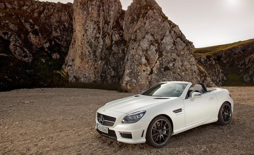 2012 Mercedes-Benz SLK55 AMG - Slide 26