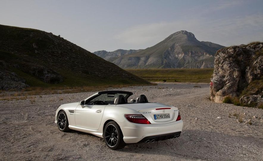 2012 Mercedes-Benz SLK55 AMG - Slide 27