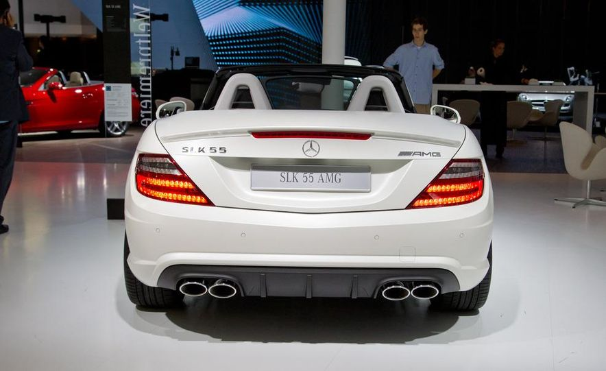 2012 Mercedes-Benz SLK55 AMG - Slide 9