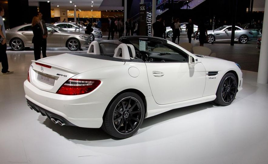 2012 Mercedes-Benz SLK55 AMG - Slide 8