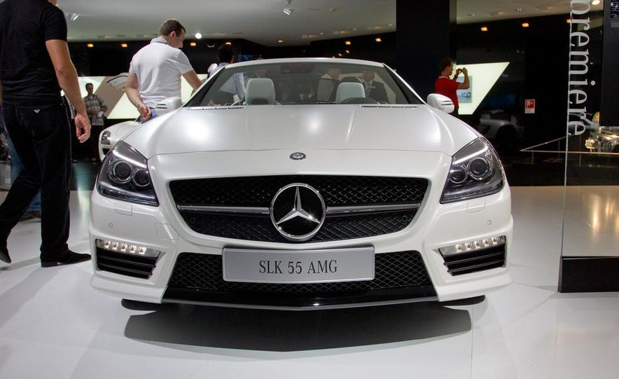 2012 Mercedes-Benz SLK55 AMG - Slide 4