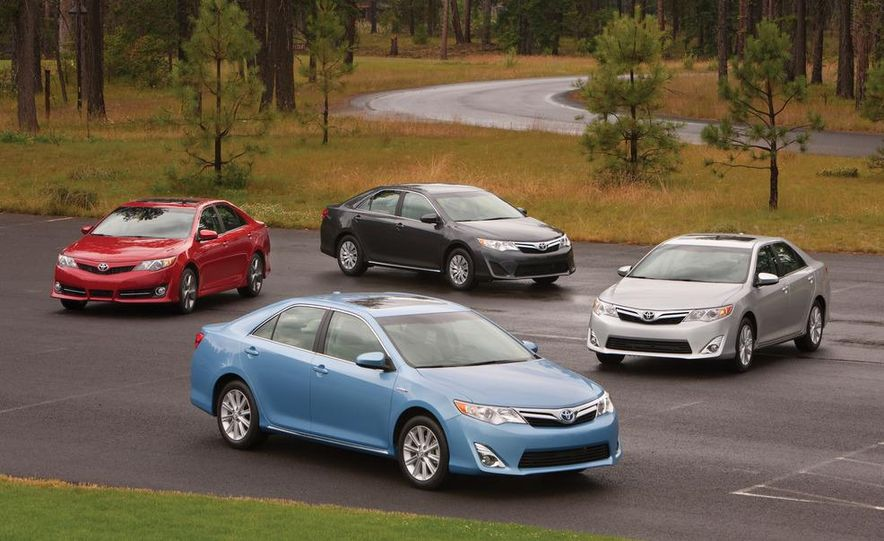 2012 Toyota Camry SE, Hybrid, LE, and XLE - Slide 1