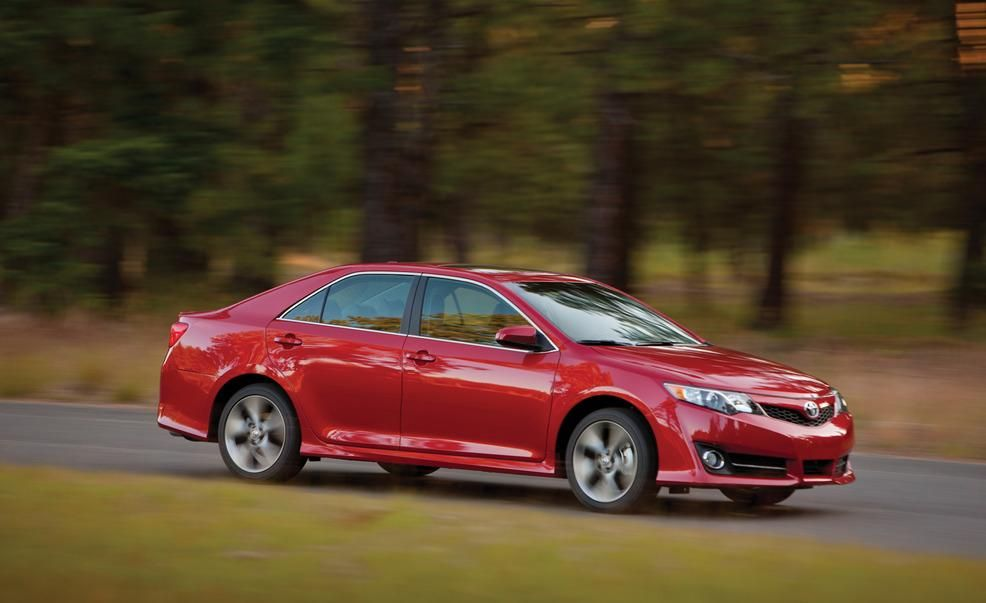 2012 Toyota Camry First Drive Review Car And Driver