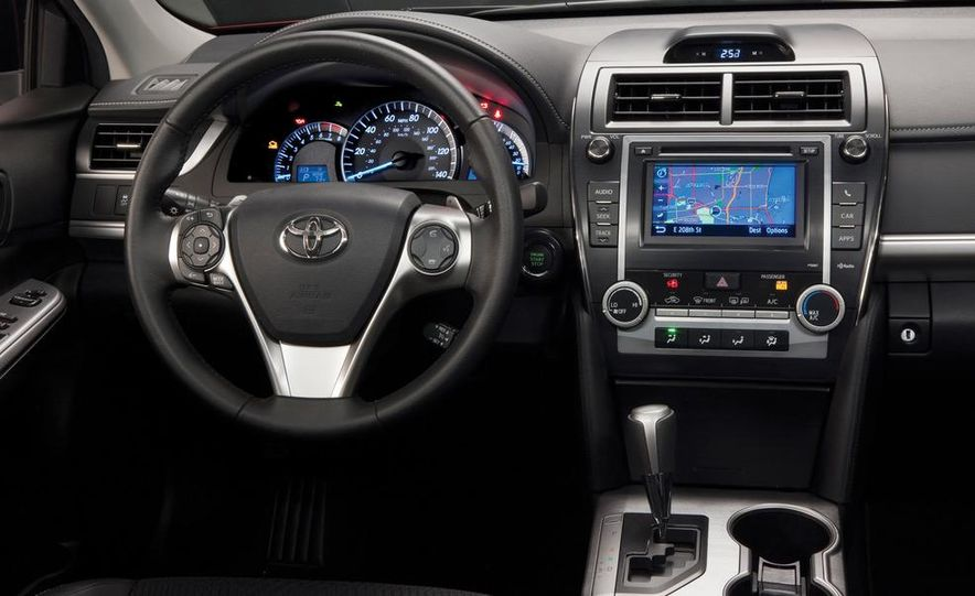 2012 Toyota Camry SE, Hybrid, LE, and XLE - Slide 10