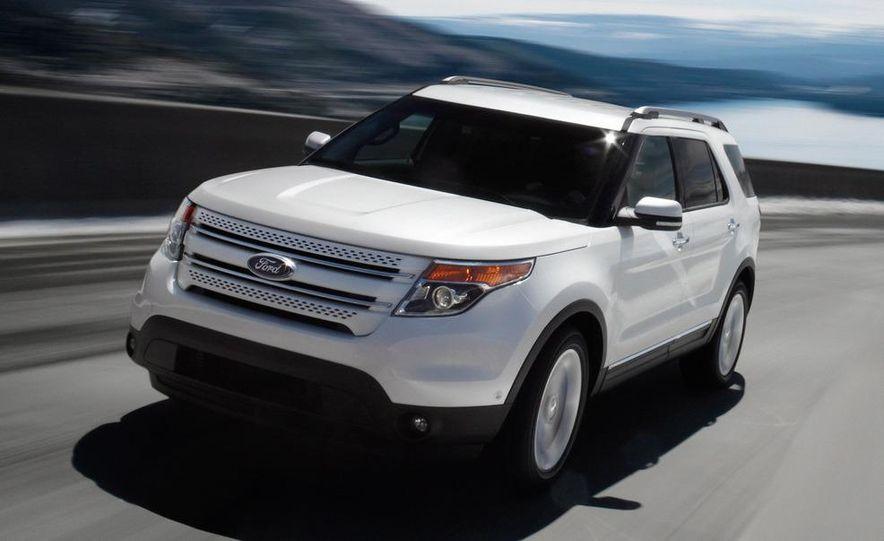 2012 Ford Explorer Limited 4WD - Slide 1