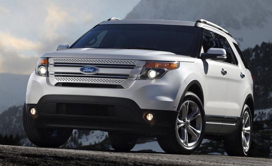 2012 Ford Explorer Limited 4WD - Slide 11