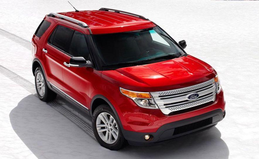 2012 Ford Explorer Limited 4WD - Slide 18