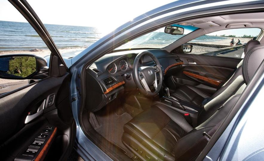 2011 Honda Accord EX-L V6, 2012 Volkswagen Passat 3.6 SEL, and 2012 Hyundai Sonata 2.0T Limited - Slide 7
