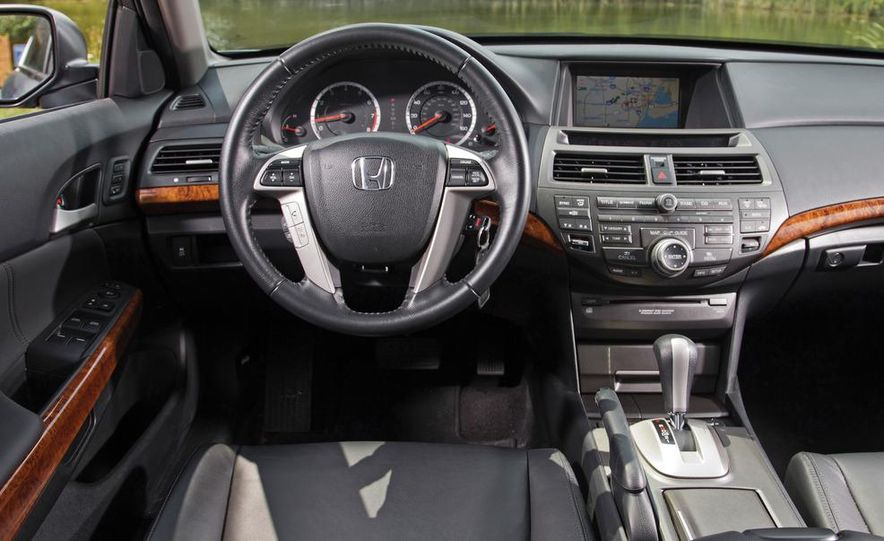 2011 Honda Accord EX-L V6, 2012 Volkswagen Passat 3.6 SEL, and 2012 Hyundai Sonata 2.0T Limited - Slide 8