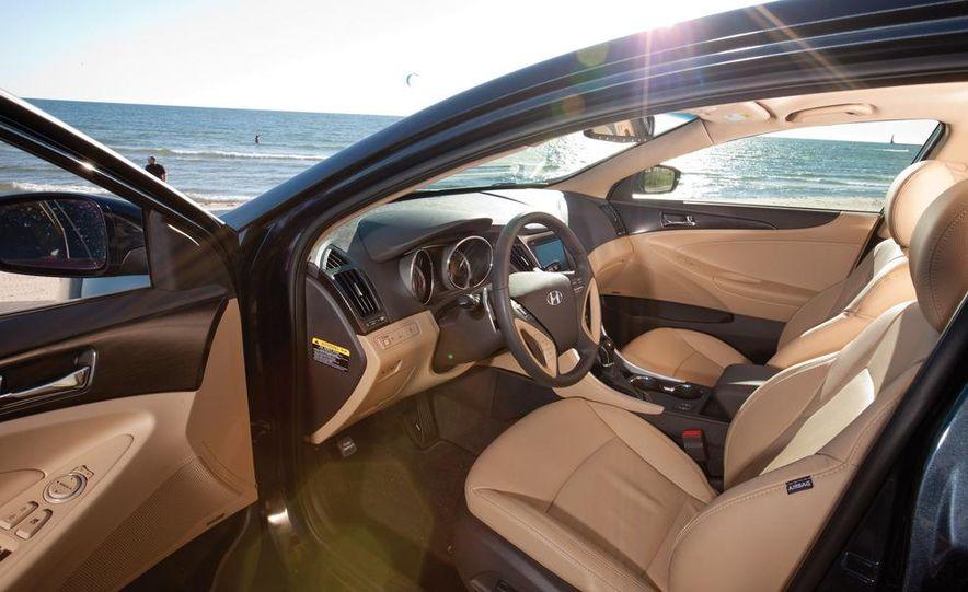 2011 Honda Accord EX-L V6, 2012 Volkswagen Passat 3.6 SEL, and 2012 Hyundai Sonata 2.0T Limited - Slide 4