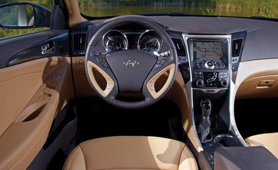 2011 Honda Accord EX-L V6, 2012 Volkswagen Passat 3.6 SEL, and 2012 Hyundai Sonata 2.0T Limited - Slide 5