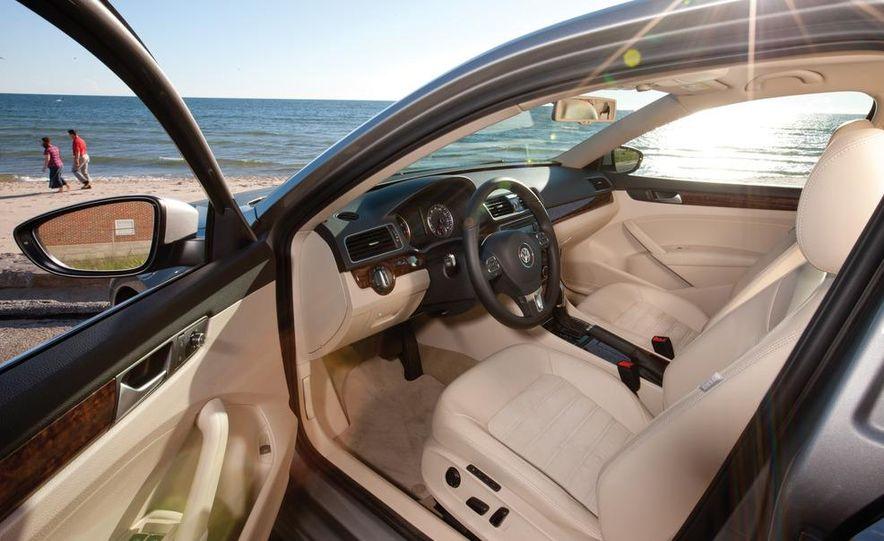 2011 Honda Accord EX-L V6, 2012 Volkswagen Passat 3.6 SEL, and 2012 Hyundai Sonata 2.0T Limited - Slide 12