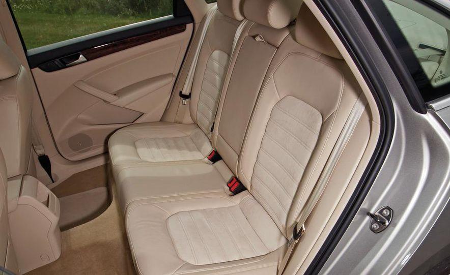 2011 Honda Accord EX-L V6, 2012 Volkswagen Passat 3.6 SEL, and 2012 Hyundai Sonata 2.0T Limited - Slide 13