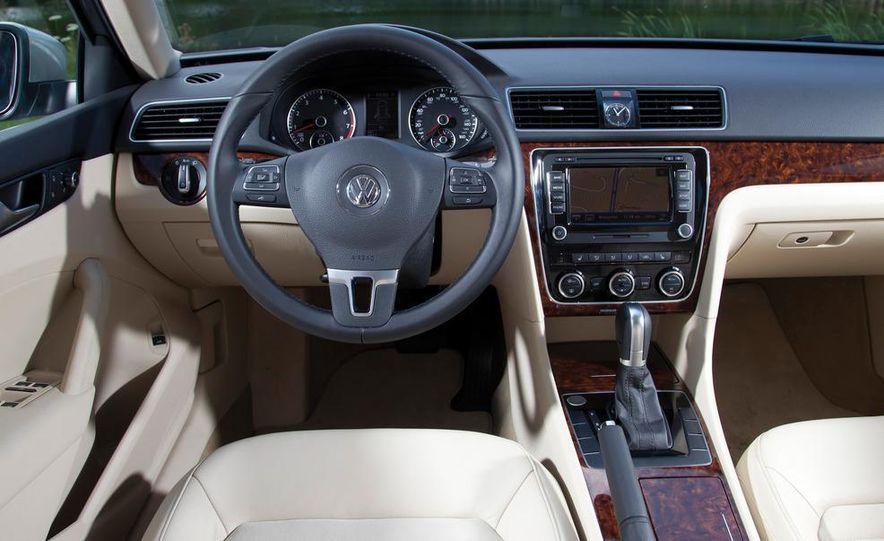 2011 Honda Accord EX-L V6, 2012 Volkswagen Passat 3.6 SEL, and 2012 Hyundai Sonata 2.0T Limited - Slide 14