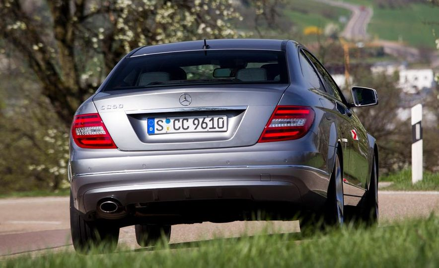 2012 Mercedes-Benz C250 coupe - Slide 1
