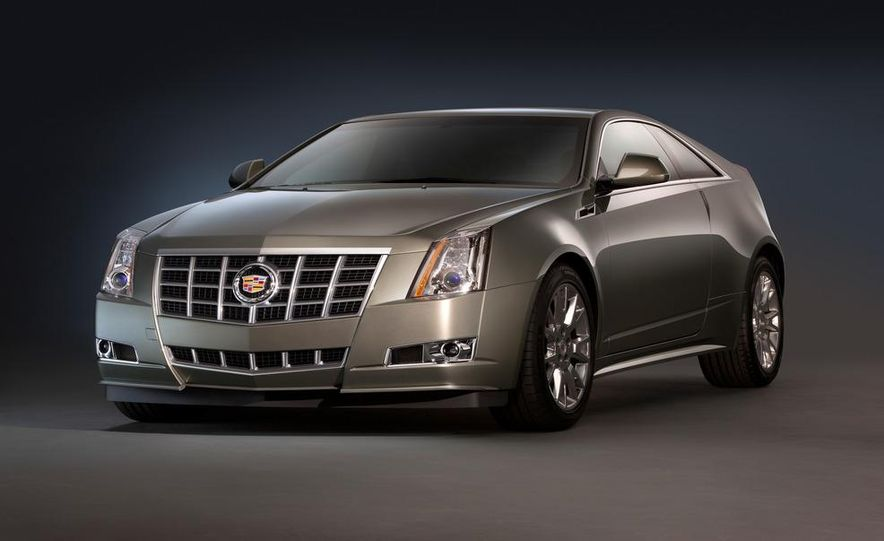 2012 Cadillac CTS coupe - Slide 1
