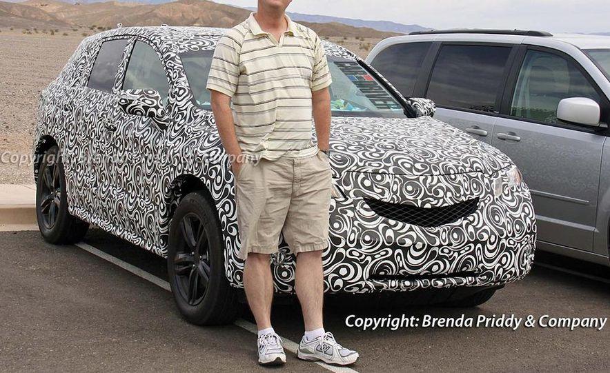 2013 Acura RDX (spy photo) - Slide 1