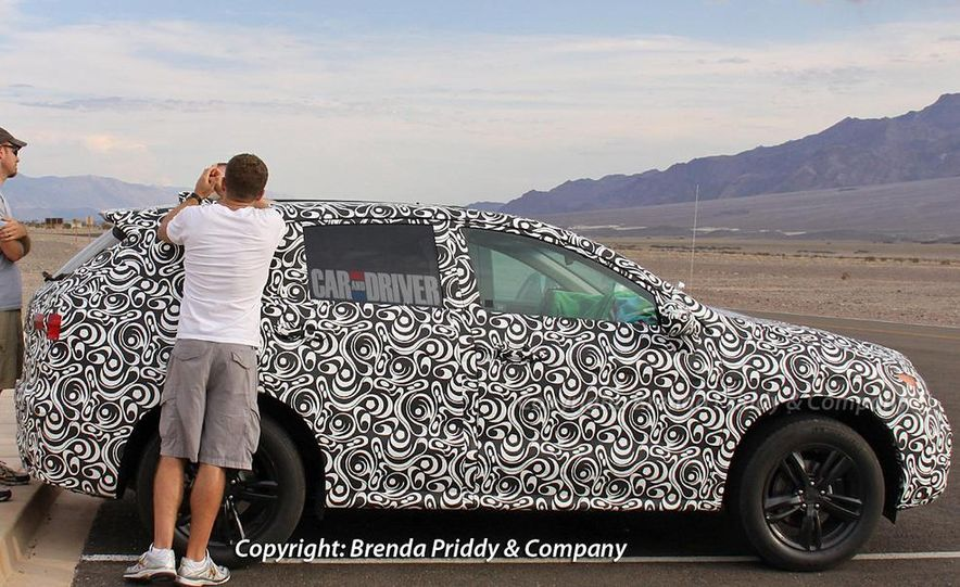 2013 Acura RDX (spy photo) - Slide 5