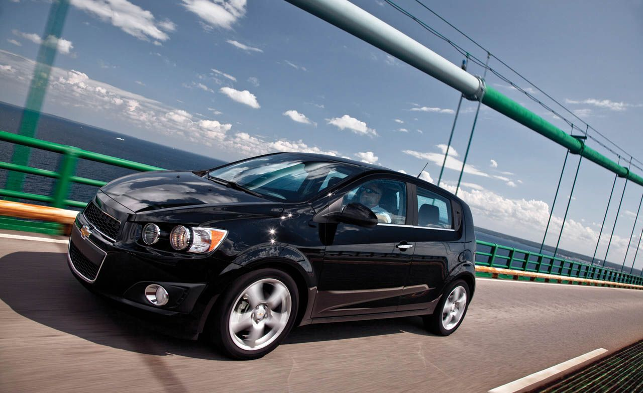 2012 chevrolet sonic ltz turbo comparison test car and driver. Black Bedroom Furniture Sets. Home Design Ideas