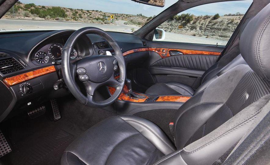 2012 Dodge Charger SRT8 and 2008 Mercedes-Benz E63 AMG - Slide 15