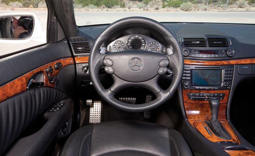 2012 Dodge Charger SRT8 and 2008 Mercedes-Benz E63 AMG - Slide 16