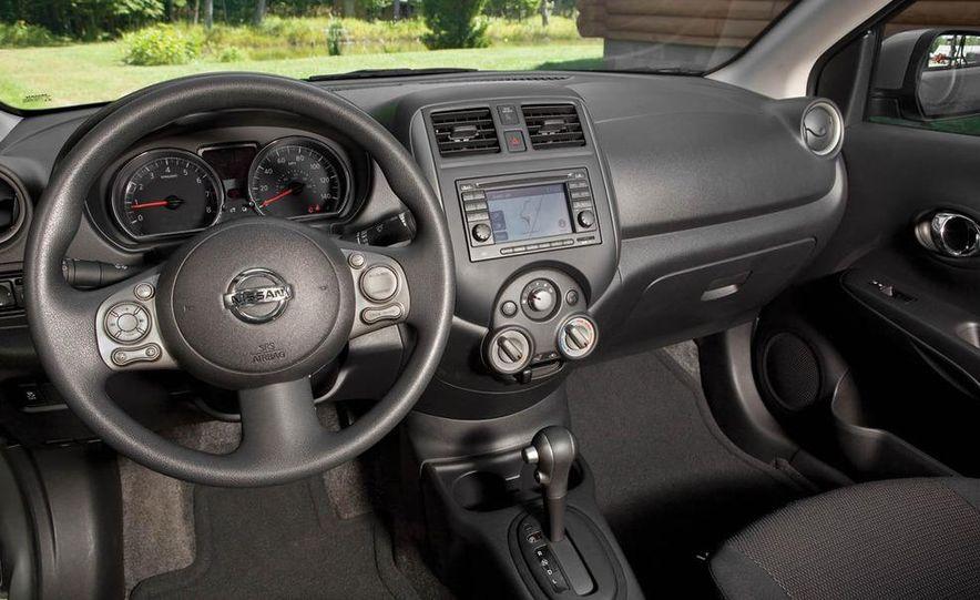 2011 Honda Fit Sport, 2012 Toyota Yaris SE, 2012 Hyundai Accent SE, 2012 Nissan Versa SL, 2012 Kia Rio5 SX, and 2012 Chevy Sonic LTZ Turbo - Slide 5