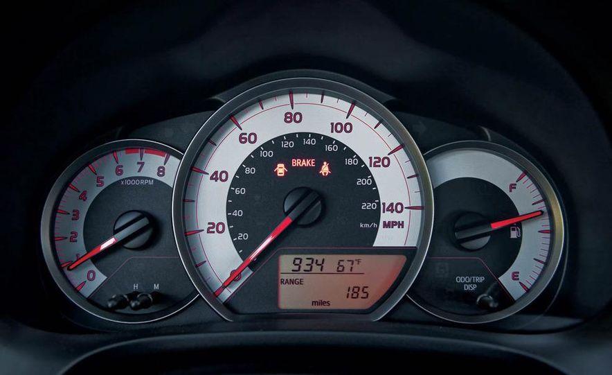 2011 Honda Fit Sport, 2012 Toyota Yaris SE, 2012 Hyundai Accent SE, 2012 Nissan Versa SL, 2012 Kia Rio5 SX, and 2012 Chevy Sonic LTZ Turbo - Slide 21