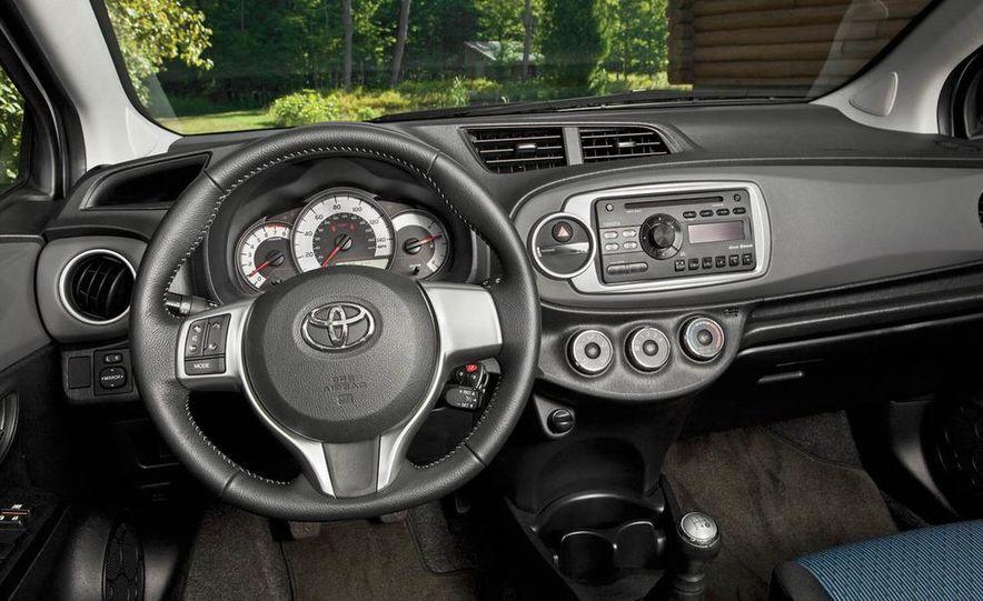 2011 Honda Fit Sport, 2012 Toyota Yaris SE, 2012 Hyundai Accent SE, 2012 Nissan Versa SL, 2012 Kia Rio5 SX, and 2012 Chevy Sonic LTZ Turbo - Slide 20