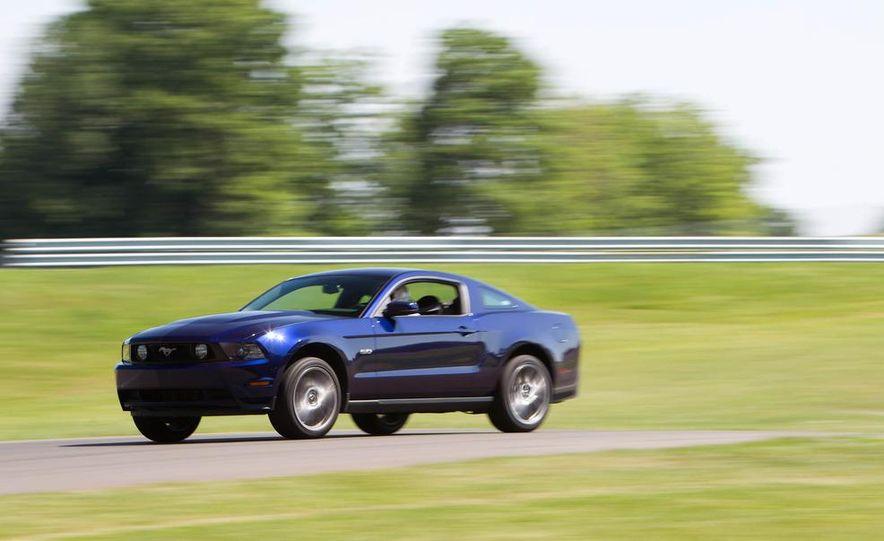 2011 Ford Mustang GT, 2012 Mini John Cooper Works, 2011 Nissan 370Z, 2011 Mitsubishi Lancer Evolution MR, 2012 Volkswagen GTI, and 2012 Mazda MX-5 Miata - Slide 19