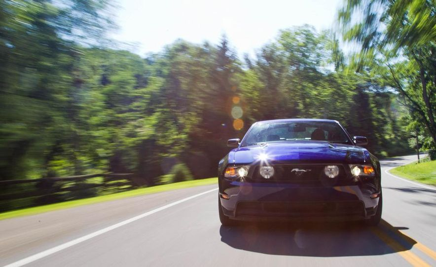 2011 Ford Mustang GT, 2012 Mini John Cooper Works, 2011 Nissan 370Z, 2011 Mitsubishi Lancer Evolution MR, 2012 Volkswagen GTI, and 2012 Mazda MX-5 Miata - Slide 20