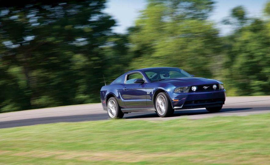 2011 Ford Mustang GT, 2012 Mini John Cooper Works, 2011 Nissan 370Z, 2011 Mitsubishi Lancer Evolution MR, 2012 Volkswagen GTI, and 2012 Mazda MX-5 Miata - Slide 22