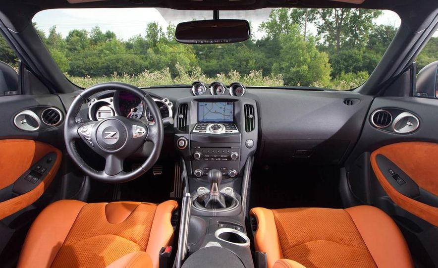 2011 Ford Mustang GT, 2012 Mini John Cooper Works, 2011 Nissan 370Z, 2011 Mitsubishi Lancer Evolution MR, 2012 Volkswagen GTI, and 2012 Mazda MX-5 Miata - Slide 18