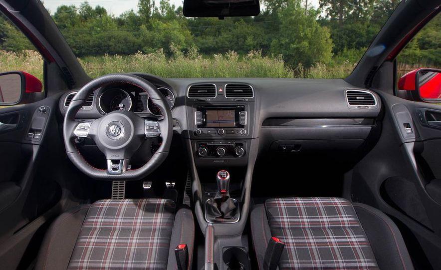 2011 Ford Mustang GT, 2012 Mini John Cooper Works, 2011 Nissan 370Z, 2011 Mitsubishi Lancer Evolution MR, 2012 Volkswagen GTI, and 2012 Mazda MX-5 Miata - Slide 7