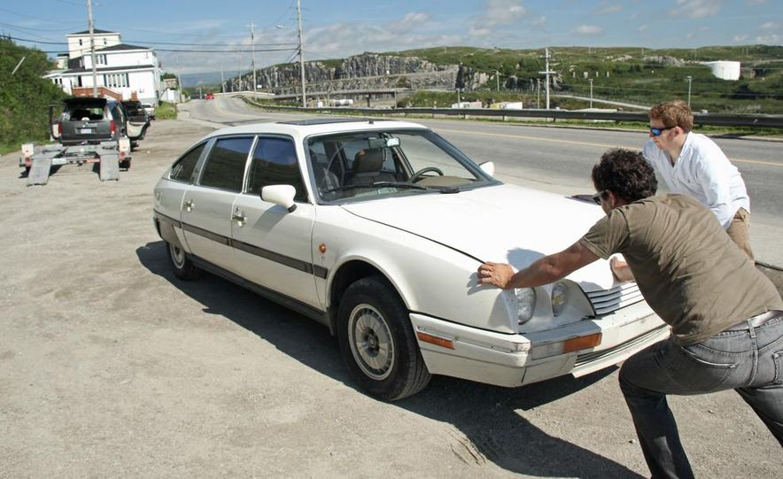 1989 Citroën CX - Slide 35