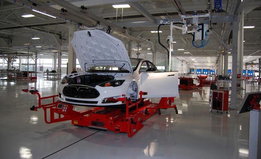 2012 Tesla Model S Signature - Slide 42