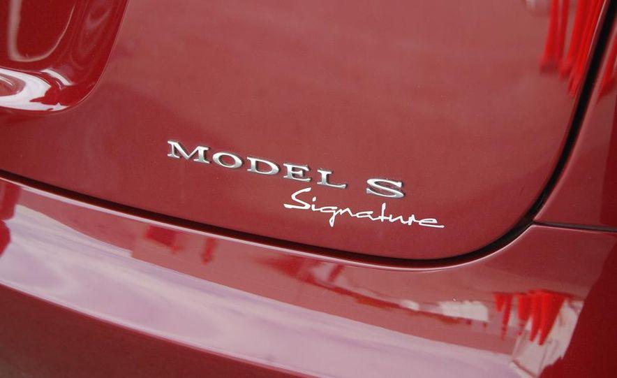 2012 Tesla Model S Signature - Slide 20