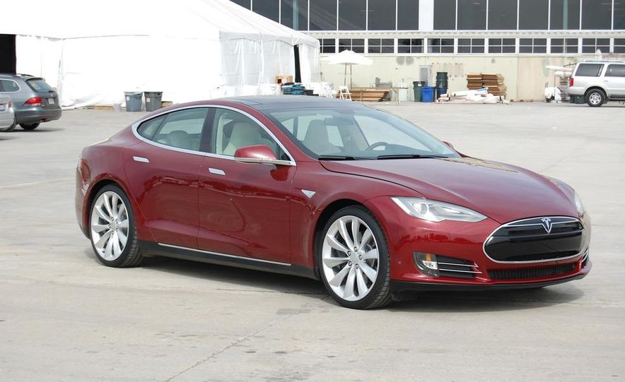 2012 Tesla Model S Signature - Slide 1