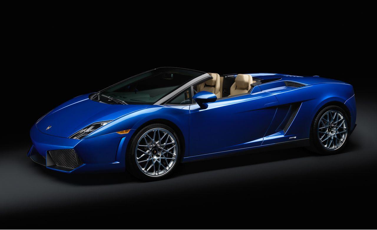 2012 Lamborghini Gallardo LP550 2 Spyder