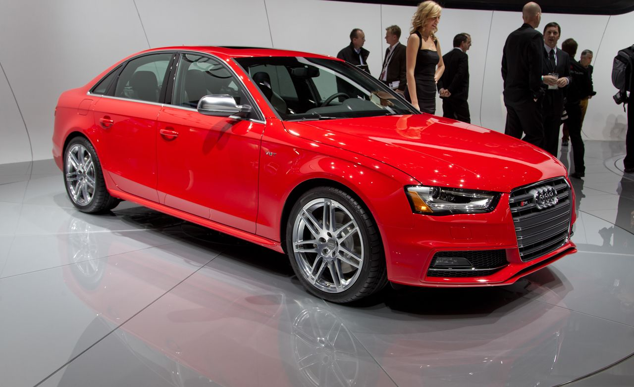 2013 Audi A4 And S4 Official Photos And Info News Car