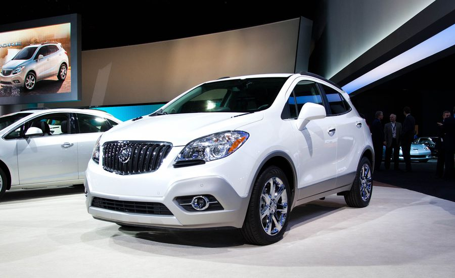2013 buick encore photos and info news car and driver. Black Bedroom Furniture Sets. Home Design Ideas